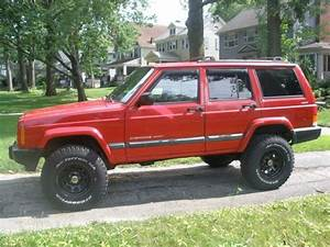 Find Used 2001 Jeep Cherokee Sport 4x4 Red In Cleveland