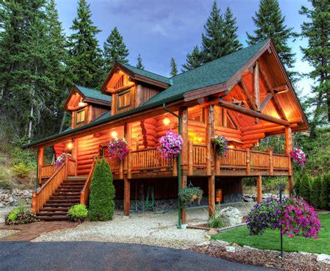 luxury log home custom log cabin plan international delivery