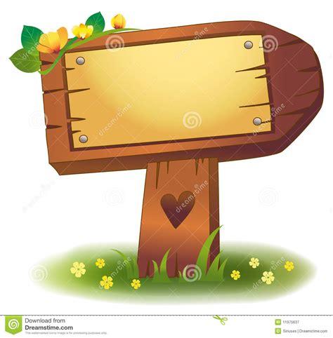 wood banner stock illustration illustration  flower