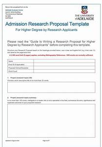 Study Proposal Template College Report Writing Clinical Study