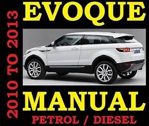 2010 2011 2012 2013 Land Range Rover Evoque Workshop