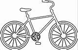 Bicycle Coloring Pages Bike Sheet Printable Colouring Duck Template Bicycles Cycling Getcolorings Templates Preschool Mountain Popular Getdrawings Unique sketch template