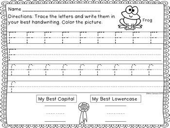 letter a worksheets best 25 kindergarten handwriting ideas on 3020