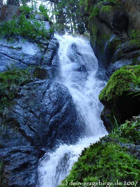 blauenthaler wasserfall erzgebirge sachsen mit video