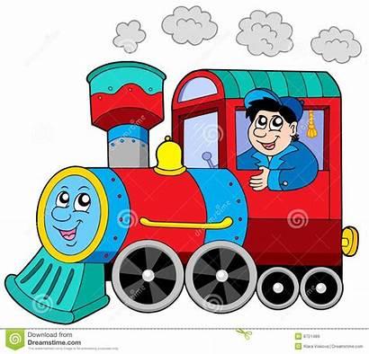 Clipart Engine Driver Locomotive Steam Motor Drive