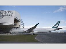 Cathay Pacific's first Airbus A3501000 gets its new paint
