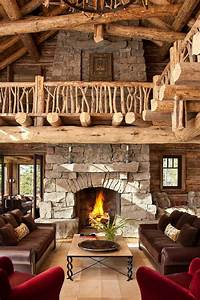 40 awesome rustic living room decorating ideas decoholic for Rustic design ideas for living rooms