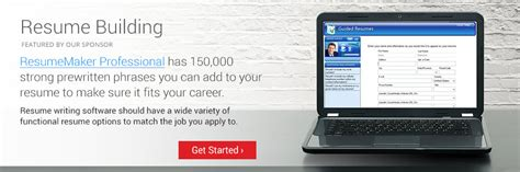 Best Resume Creation Software by The Best Resume Writing Software Of 2017 Top Ten Reviews
