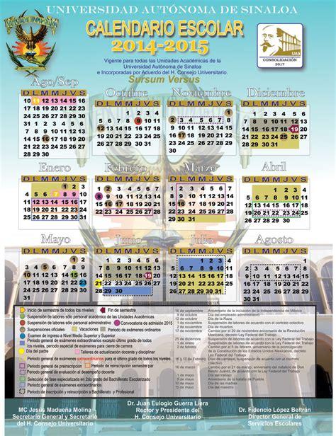 calendarios escolares universitarios calendariolaboralcommx