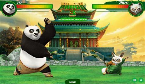 kung fu panda  furious fight game funnygamesin