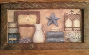 primitive bath wall decor country bath decor bathroom