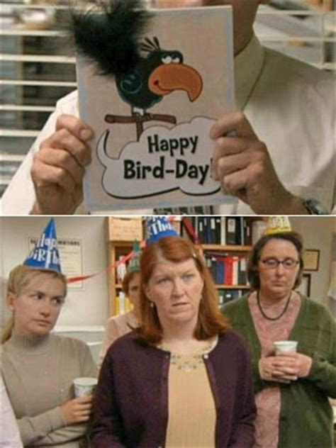 The Office Merediths Birthday Card Quotes