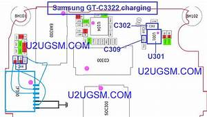 Samsung C3322 Charging Solution Usb Connector Jumper