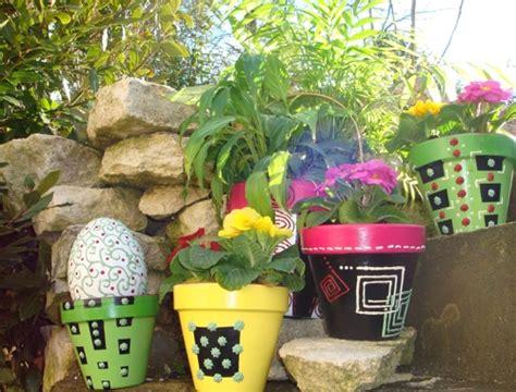 tutoriel customiser des pots de fleurs femme2decotv