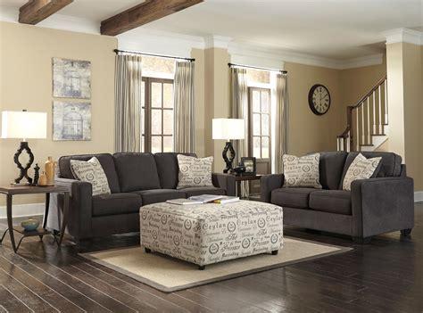 charcoal sofa living room alenya charcoal living room set 16601 38 35 ashley furniture