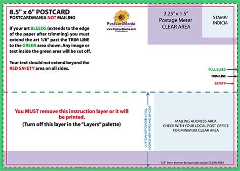 postcard template arts arts