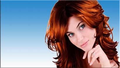 Redhead Wallpapers Desktop Woman Female Models Pretty