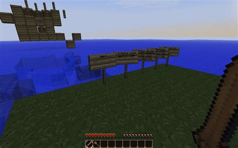 Minecraft Boat Crash survival island boat crash minecraft project