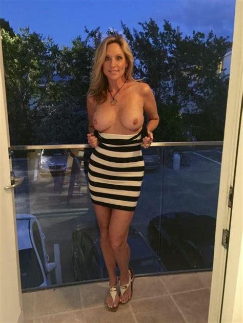 Wife Balcony Tit Flash 67bigtittylover92