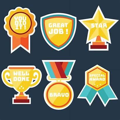 Vector Stickers Teacher Award Pack Clipart Stars
