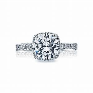 tacori engagement rings dantela diamond halo 18k white With halo diamond wedding rings