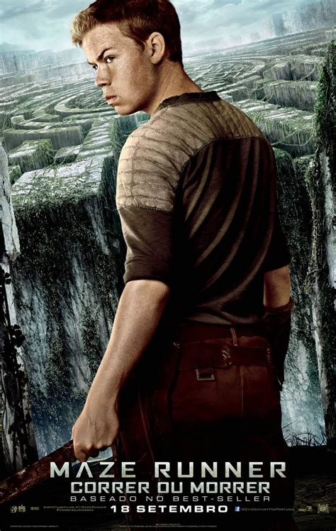 maze runner poulter character poster posters banners movie newt gally teresa thomas alby minho dvd heyuguys don sangster brodie cinemas