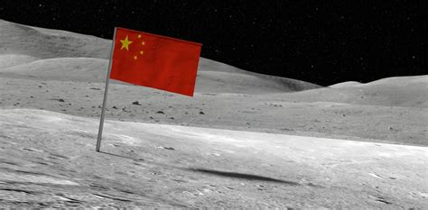 chinas moon landing launch   space race