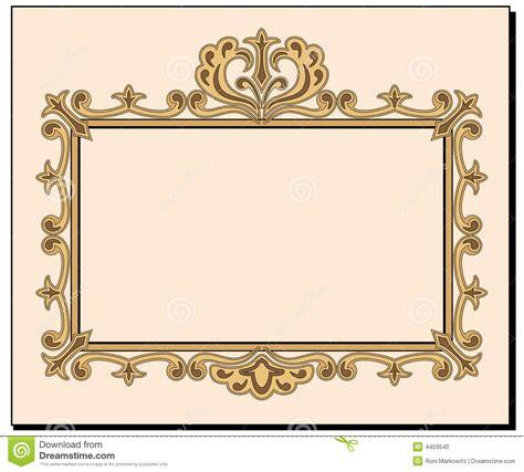 fancy blank invitation stock photo image