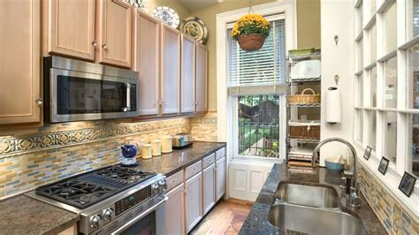 kitchen design ideas for small galley kitchens best galley kitchen designs awesome house