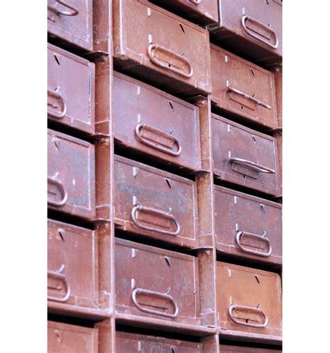 armoire 224 tiroirs en acier vintage industriel