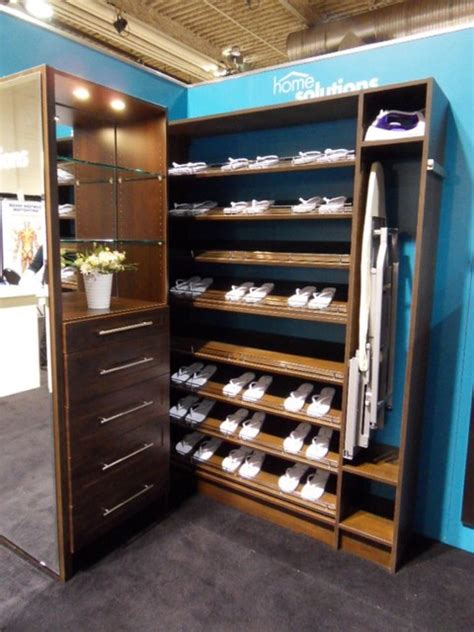 chocolate wood solutions adjustable shoe shelves