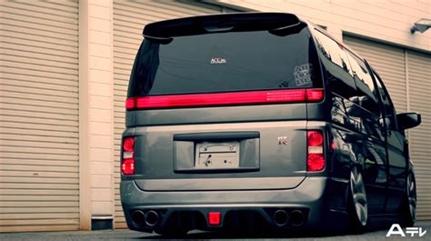 Nissan Elgrand Modification by Slammed Nissan Elgrand On Gt R Wheels Fast Car