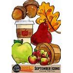 Clipart Pecorino September Clip Apple Sarah Apples