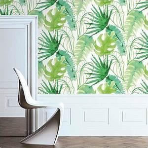 Brico Depot Papier Peint : papier peint elle 39 jungle fever 39 vert brico ~ Dailycaller-alerts.com Idées de Décoration