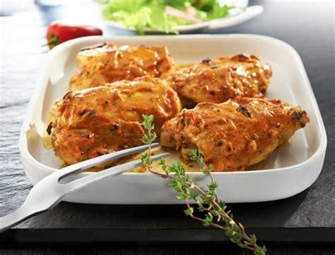 hauts de cuisse de poulet sauce diable recette du quotidien maître coq