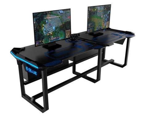 l shaped gaming desk de 25 bedste idéer inden for gaming desk på pinterest