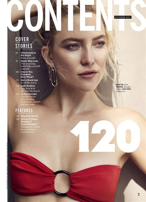 Kate Hudson - Cosmopolitan Magazine USA October 2017 Issue ...
