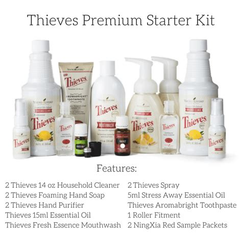 premium starter kit with thieves oil well