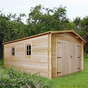 Garage Aus Holz : blockhaus garage holzgarage autogarage holz 510x330 28mm 283930 ~ Frokenaadalensverden.com Haus und Dekorationen