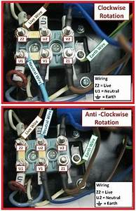 Single Phase Motor Rotation  Clockwise  U0026 Anti Clockwise  Electrical Info Mechanics Pics  With