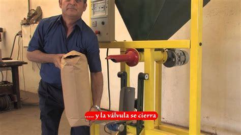 ensacadora bolsas de valvula youtube