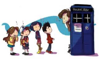 Doctor Who and Gravity Falls