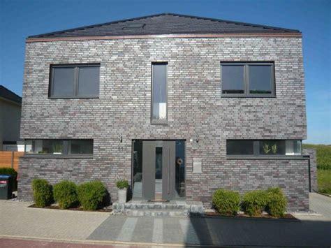 Moderne Häuser Mit Klinker by Bild 12 21 Stadtvilla I Klinker I Kubus Vorne
