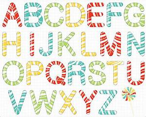 17 awesome psd candy cane templates designs free With candy cane alphabet letters