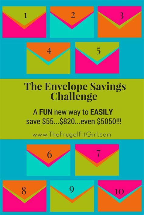 envelope savings challenge  fun    save