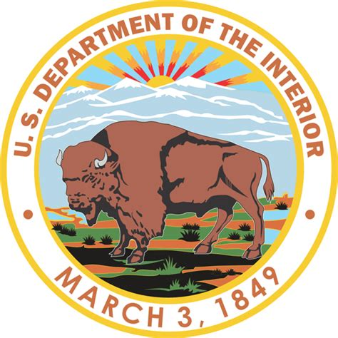 united states department of the interior logo vectors like