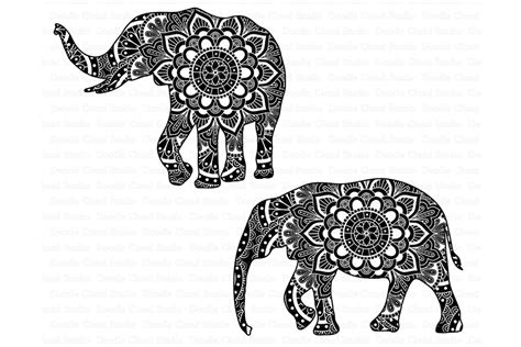 Low to high sort by price: Elephant SVG, Mandala SVG, Elephant Mandala SVG files