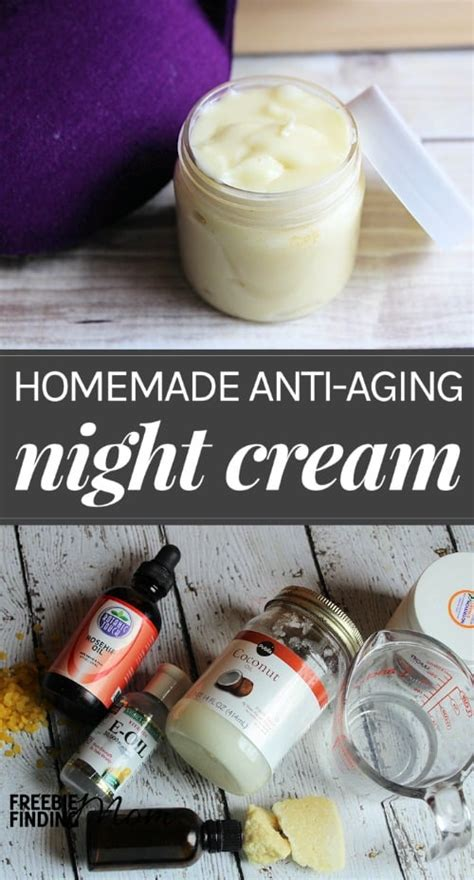 homemade night cream recipe anti aging night cream