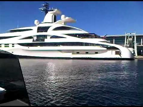 Yacht In The Water Song by Megayacht Tender Fro Palladium Ibiza Fish Water Taxi