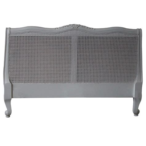 Louis Xv Rattan Antique French Headboard To Compliment Our